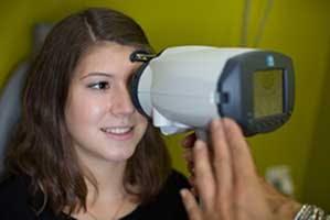 Kontaktlinsen-Kontrolle