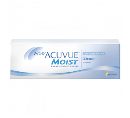 Image of 1-Day Acuvue Moist for Astigmatism - 30 Tageslinsen