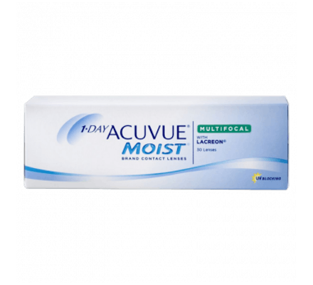 Image of 1-Day Acuvue Moist Multifocal - 30 Tageslinsen