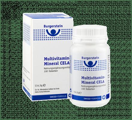 Image of Burgerstein Multivitamin-Mineral CELA 100 Tabletten