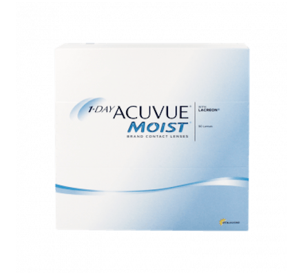 Image of 1-Day Acuvue Moist - 90 Tageslinsen