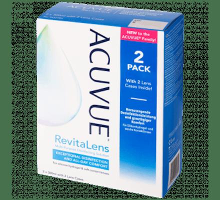 Image of ACUVUE RevitaLens - 2 x 300ml inkl. Behälter