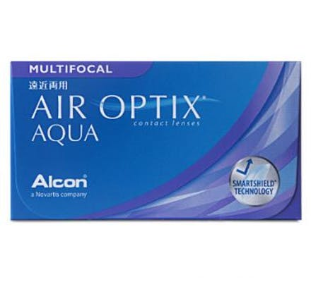 Image of Air Optix AQUA Multifocal - 3 Monatslinsen
