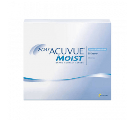 Image of 1-Day Acuvue Moist for Astigmatism - 90 Tageslinsen