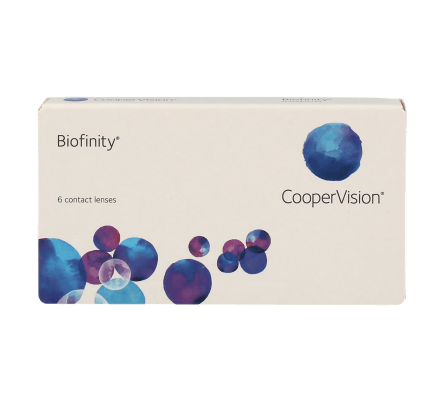 Biofinity Monthly - 6 Monthly Lenses