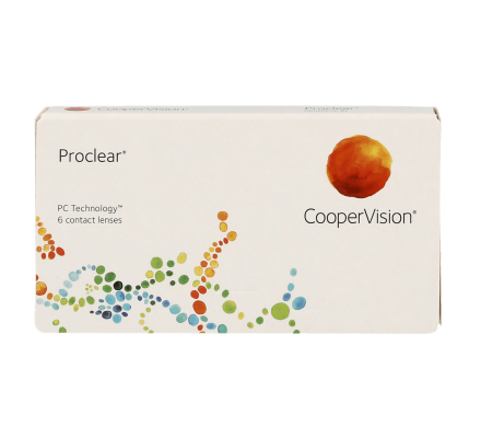 Proclear Spheric - 3 Monthly Lenses