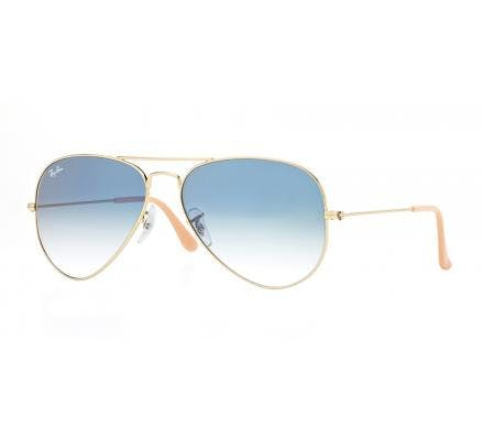Ray-Ban Aviator Large Metal RB3025 - 001-3F 55-14