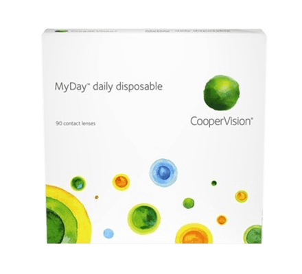 MyDay daily disposable - 90 daily lenses