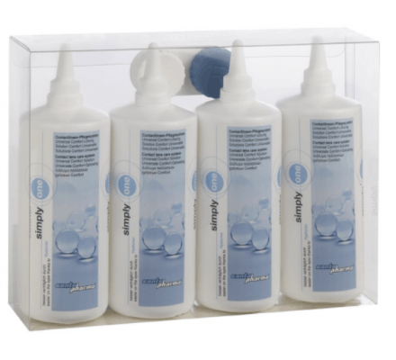 simply one CONTOPHARMA - 4 x 250ml & 1 Contenitore