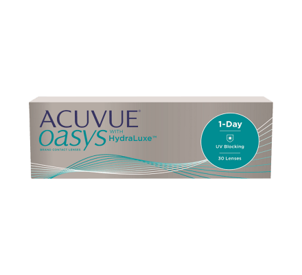 ACUVUE OASYS 1-Day with HydraLuxe - 30 lentilles