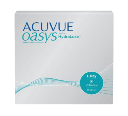 ACUVUE OASYS 1-Day with HydraLuxe - 90 lentilles