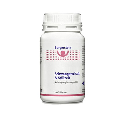 Burgerstein Pregnancy and Lactation 100 Tabl. BURGERSTEIN VITAMINE