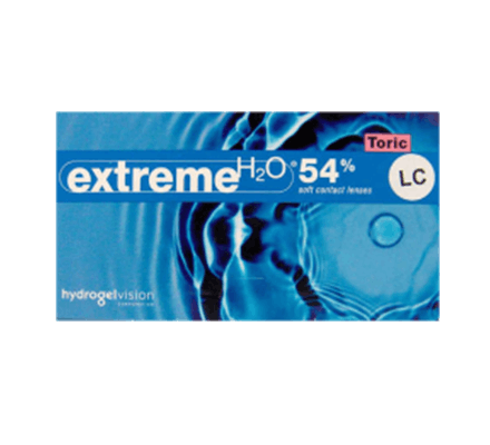 Extreme H2O 54% Toric LC - 1 Probelinse