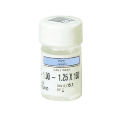 LENSVISION VIVO UV Toric - 2 Soft contact lenses