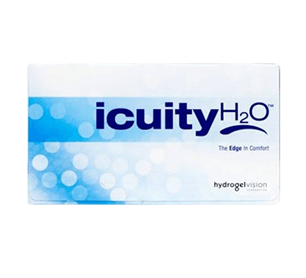 icuity H2O - 12 contact lenses