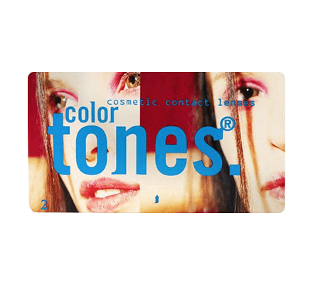Color Tones Colored Contact Lenses - 2 Lenses
