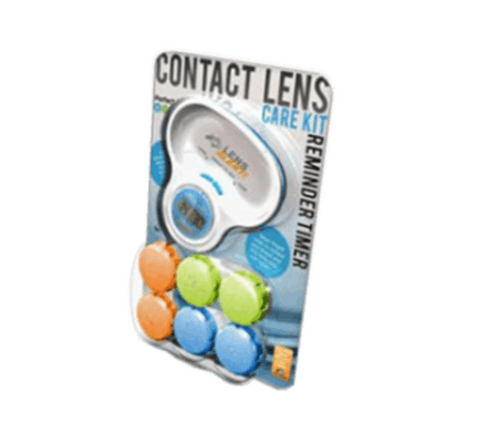 LENS ALERT Case Replacement Timer 1x & 3 Lens Cases