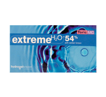 Extrem H2O 54% Toric MC - 6 Monthly Lenses