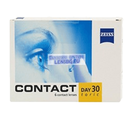 Contact Day 30 Toric Zeiss - 6 Monthly Lenses