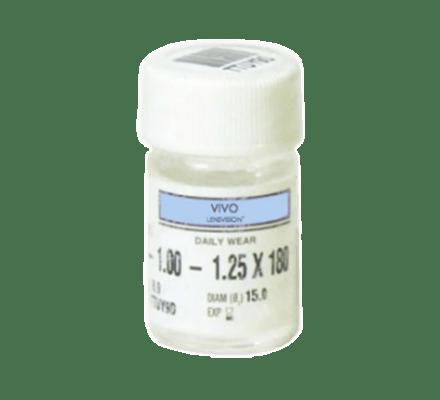 LENSVISION PE UV - 2 harte (formstabile) Kontaktlinsen