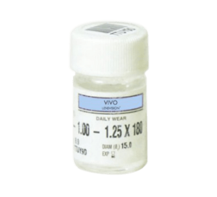 LENSVISION PE UV - 2 lentilles de contact rigides