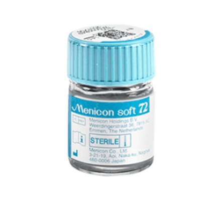 Menicon Soft 72 - 1 Soft contact lens