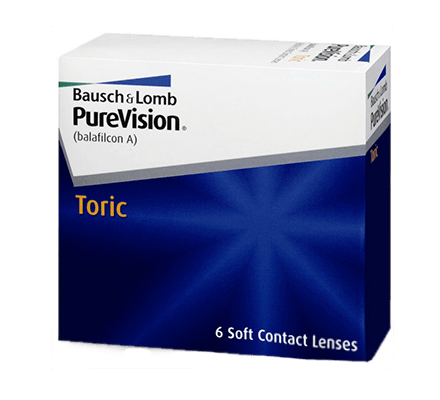 Pure Vision Toric - 6 Monthly Lenses