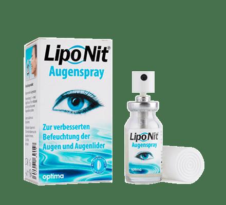 Lipo Nit Spruzzare per le palpebre Occhio Spray 10ml LipoNit