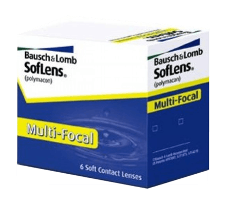 SofLens Multifocal - 6 Monthly Lenses