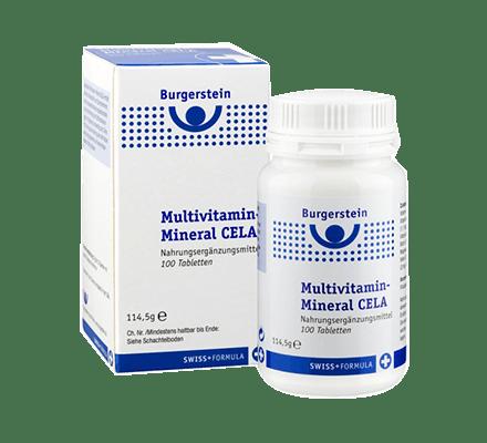 Burgerstein Multivitamin-Mineral CELA 100 Tabletten