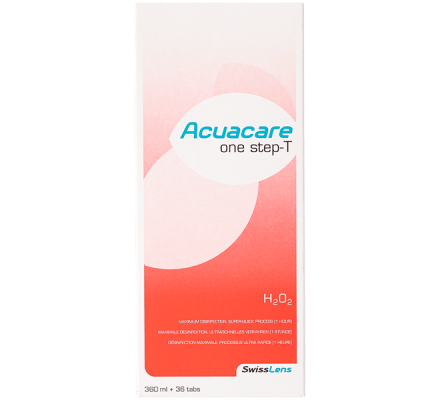 Acuacare One Step- T - 360ml & 36 Tabletten