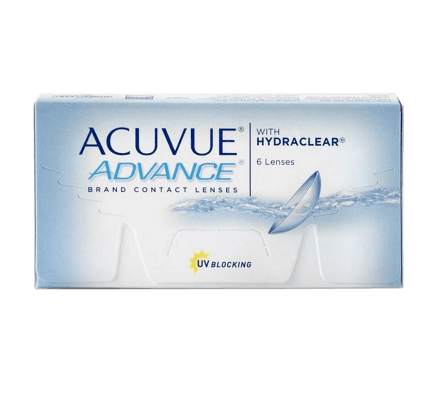 Acuvue Advance - 6 Contact Lenses
