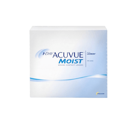 1-Day Acuvue Moist - 180 lenses
