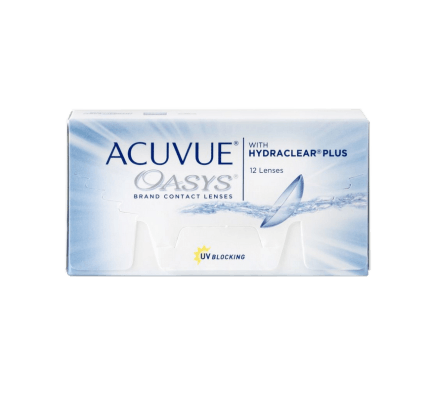 Acuvue Oasys - 12 Contact Lenses