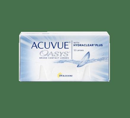 Acuvue Oasys - 12 Lentilles bi-mensuelles