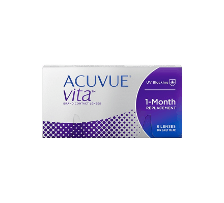 Acuvue Vita - 6 Contact Lenses