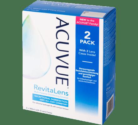 ACUVUE RevitaLens - 2 x 300ml inkl. Behälter