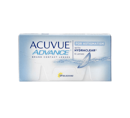 Acuvue Advance for Astigmatism - 6 Contact Lenses