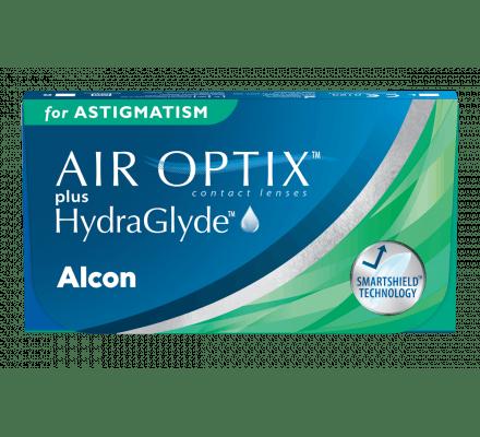 Air Optix Plus HydraGlyde for Astigmatism - 6 Monatslinsen