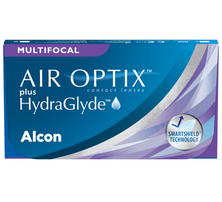 Air Optix Plus HydraGlyde Multifocal - 6 Monatslinsen