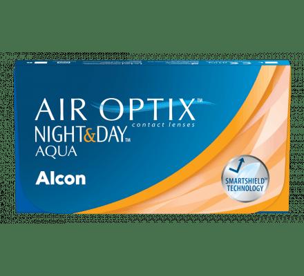 Air Optix AQUA Night & Day - 3 Monatslinsen