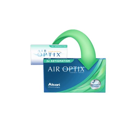 Air Optix for Astigmatism - 6 Lentilles mensuelles