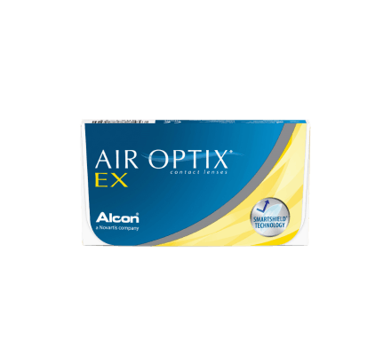 Air Optix EX - 3 Monthly Lenses