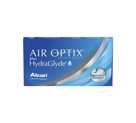 Air Optix plus HydraGlyde - 3 Monthly Lenses