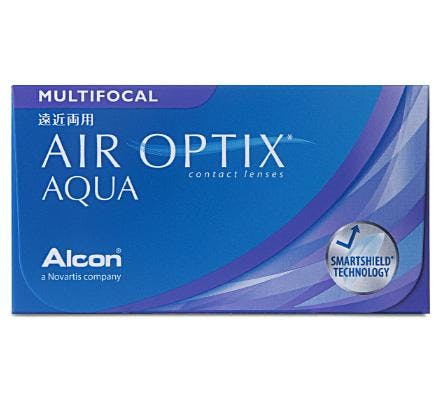 Air Optix AQUA Multifocal - 6 Lentilles mensuelles