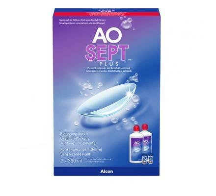AO Sept Plus - 2 x 360ml + contenitore