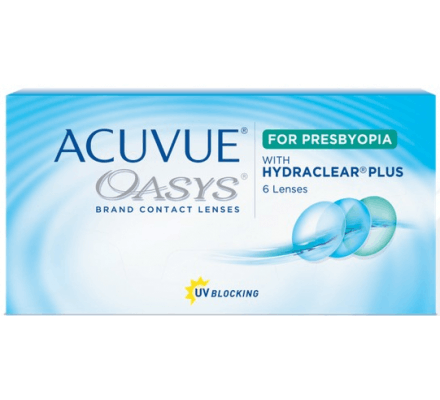 Acuvue Oasys for Presbyopia - 6 Contact Lenses