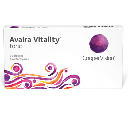 Avaira Vitality Toric - 3 Lentilles mensuelles