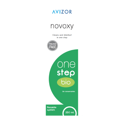 Avizor Novoxy One Step Bioindicatore - 250ml & 30 compresse + contenitore