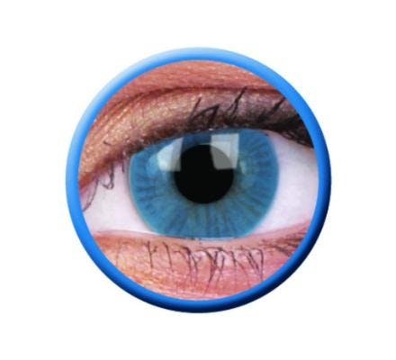 ColourVUE Basic Blue - 2 Kontaktlinsen